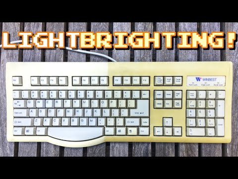Retrobrighting with just Sun? This forum says yes | Read description