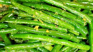 Garlic Green Beans Recipe