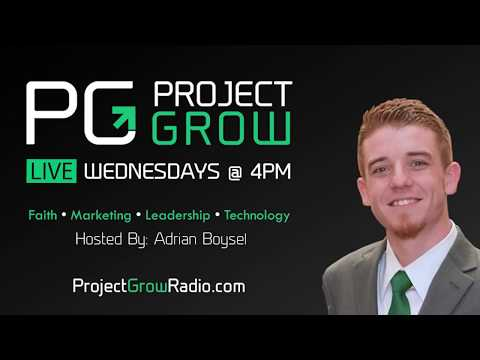 Project Grow #12 Live Stream - Miracles & Motivation with Guest Brandon Leon