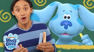 Blue & Josh Skidoo Into Chalk World! | Blue's Clues & You!