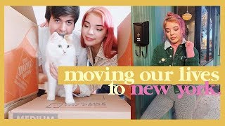 📍 moving our lives to brooklyn, new york. (vlog & q&a)