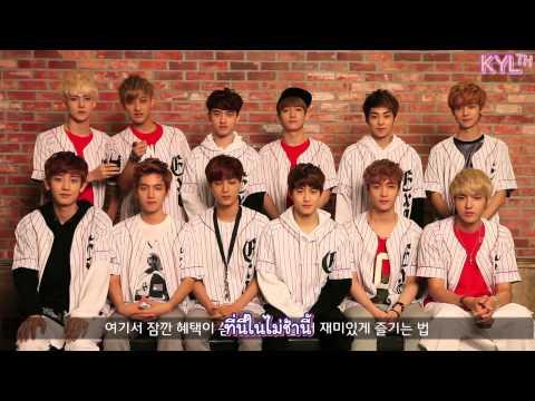 [THAISUB] 131011 EXO - SK Telecom LTE Interview