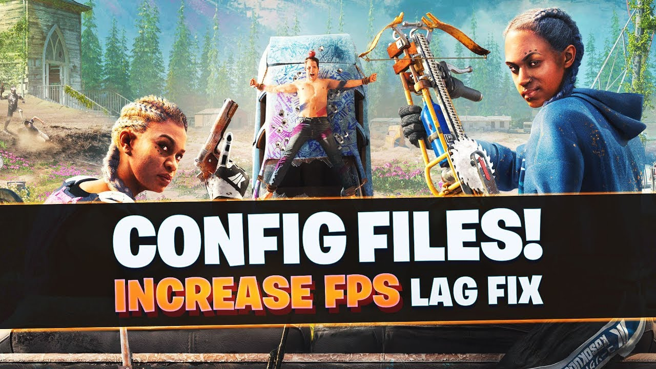 Far Cry New Dawn Low End PC's Config file