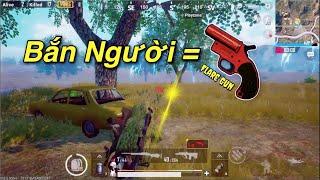 PUBG Mobile | Dùng Flare Gun Bắn Người Ở Bo Cuối ...và Cái Kết...