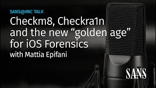 "Checkm8, Checkra1n and the new ""golden age"" for iOS Forensics 