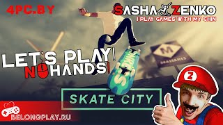 Skate City Gameplay (Chin & Mouse Only)