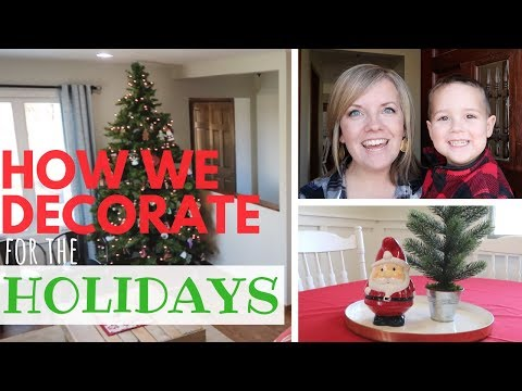 Decorating for the Holidays 2018 | Minimalist Family Life
