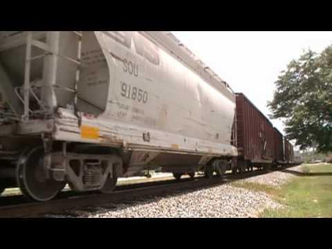 Long Freight W Slug NS 877 Locust Grove GA