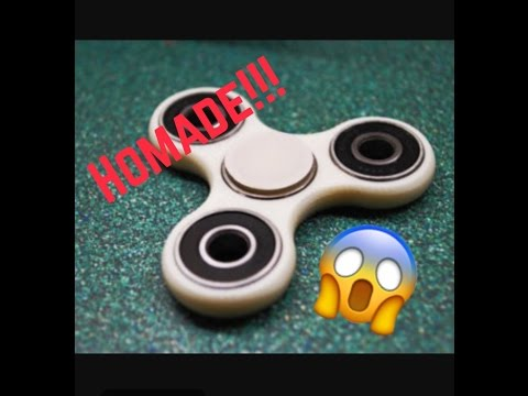 How to make a fidget spinner!!! With just hot glue?!?!?!