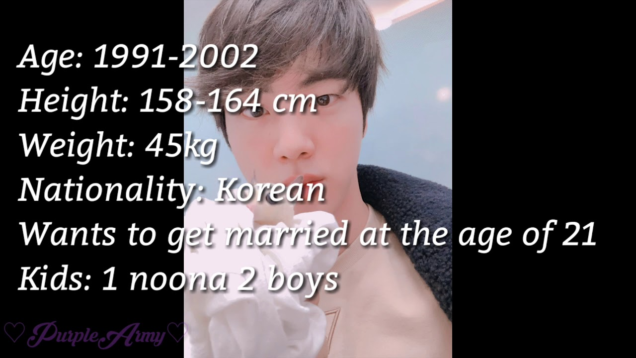 Are You Jin S Future Girlfriend Kim Seok Jin Ideal Type 2019 Youtube