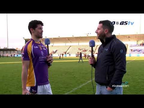 Kilmacud Crokes' Rory O'Carroll chats to DubsTV after Quarter Final win over Na Fianna