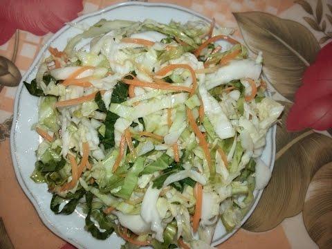 Cách làm dưa bắp cải (muối dưa bắp cải)_Pickled cabbage