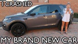 I CRASHED MY BRAND NEW CAR   SUNDAY VLOG   Lucy Jessica Carter