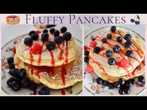 fluffy-pancakes-tout-moelleux-et-légers-🥰facile-&-rapide│recette-des-pancakes-japonais-sans-levure