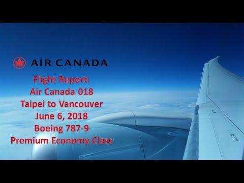 Trip Report | Air Canada 018 | TPE-YVR | 787-9 | Premium Economy