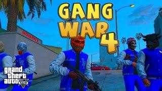 GTA 5 THUG LIFE #4 - GANG WAR BLOOD VS CRIPS | S2