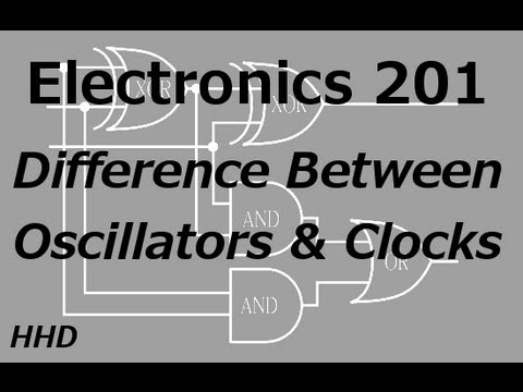 Electronics 201: Difference Between Oscillators and Clocks