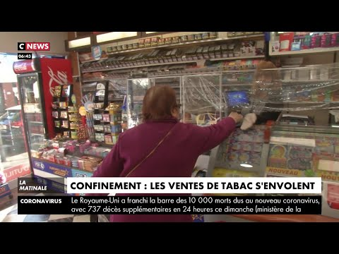 Confinement : les ventes de tabac s'envolent en France