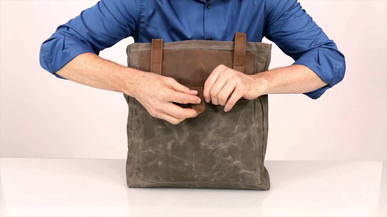 2a89b1b83382 Field Tote by WaterField Designs - YouTube