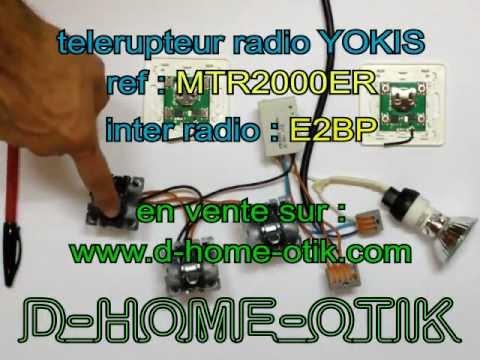 De A Z Montage Telerupteur Radio Yokis Mtr2000er