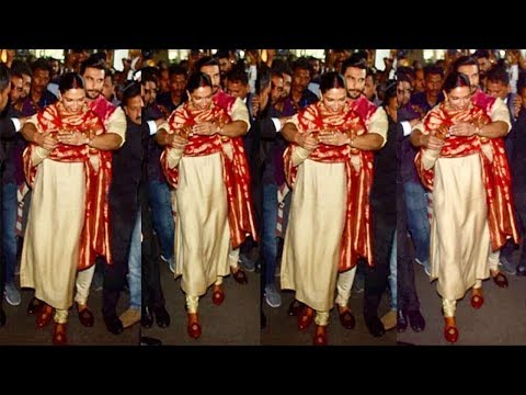 Ranveer Singh Shows LOVE & Care For Wife Deepika Padukone By Protecting From FANS & Media At Airport Mp3