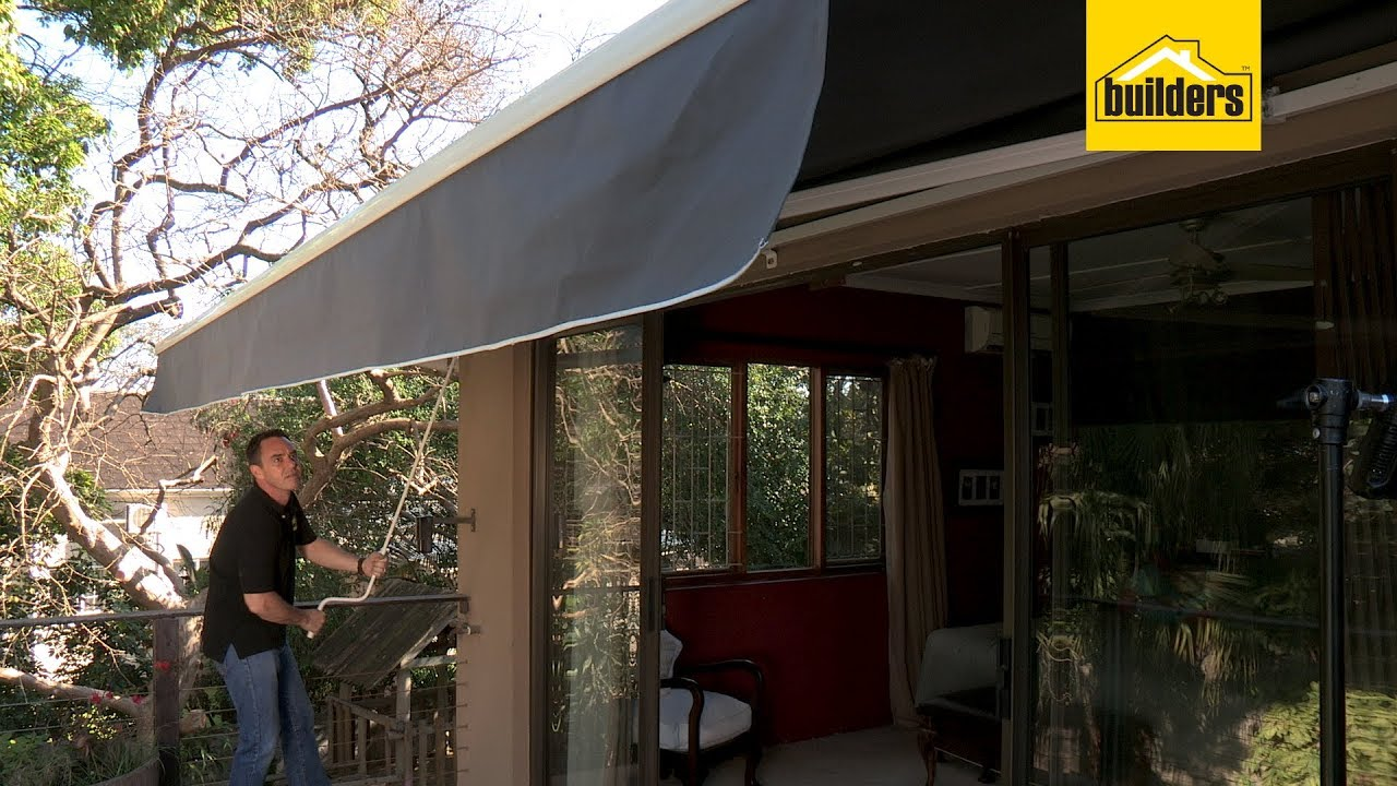 Design House Tor 105 Retractable Awning Grey 3950 X 2500mm Awnings Awnings Fly Screens Doors And Windows Builders South Africa