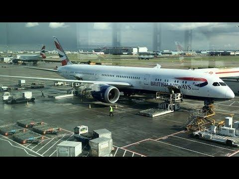 British Airways BA99 London - Toronto B787 Economy