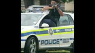 South-african police and flying squad tribute