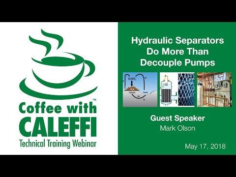 Hydraulic Separators Do More Than Decouple Pumps