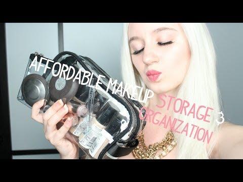 Makeup Artist Kit Organization and Storage AFFORDABLE