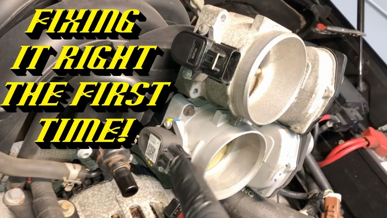 Ford Electronic Throttle Body Failures P2106 P2107 P2110 P2135: What to  Check First!