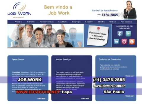 JOB WORK - SÃO PAULO