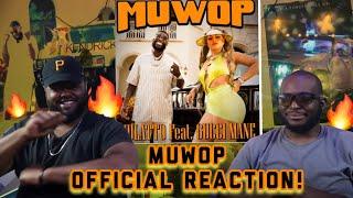 Mulatto - Muwop ft. Gucci Mane LIT REACTION! *She the best female Atlanta Rapper?!?*   YBC ENT.