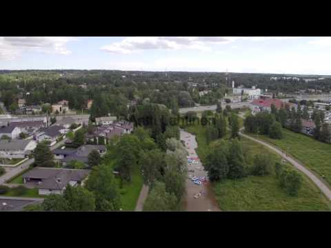 Kaljakellunta - beer floating - Off the Ground Productions aerial video bank