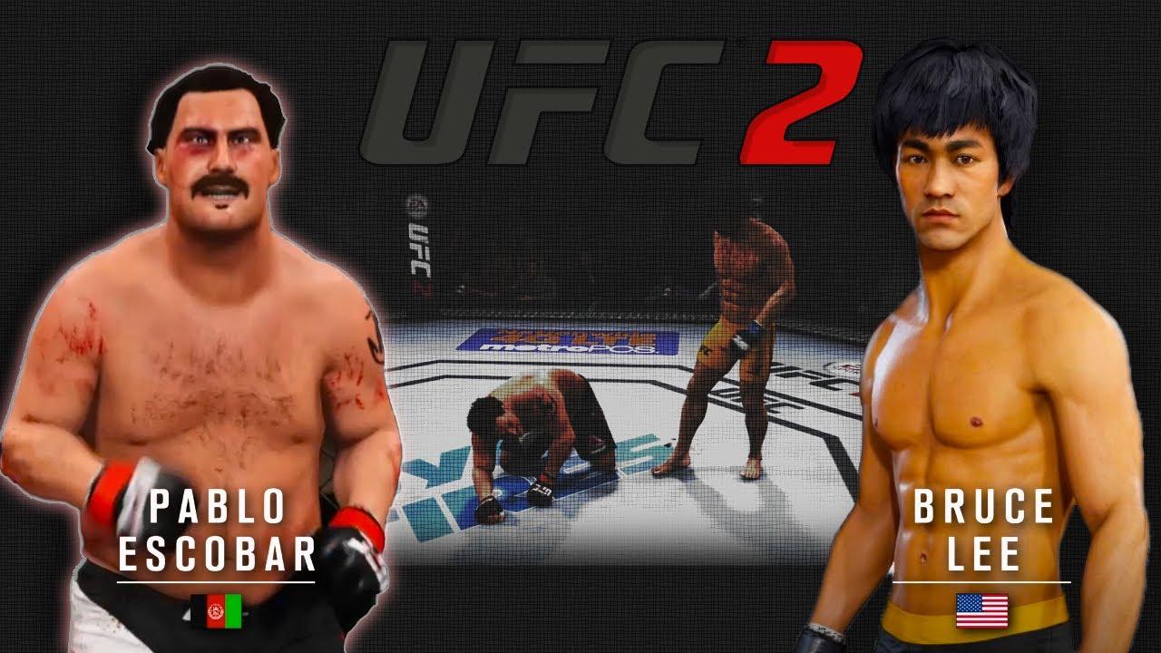 Pablo Escobar vs. Bruce Lee – EA sports UFC 2