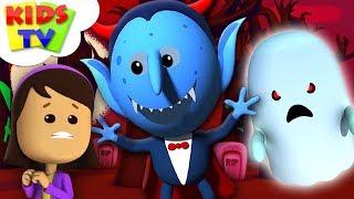 It's Halloween Night | Little Eddie | Nursery Rhyme For Children | Cartoons Videos By Kids TV