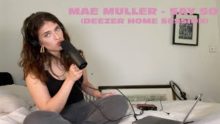 Смотреть клип Mae Muller - Say So