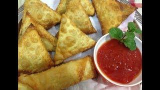 Chicken Samucha | Samosa Recipe | Chicken Samosa Bangladeshi Samosa Recipe | Iftar Recipe