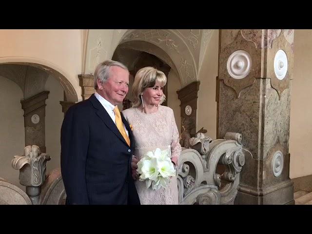 Video Wolfgang Porsche Heiratet Claudia Hubner Zeremonie Mit