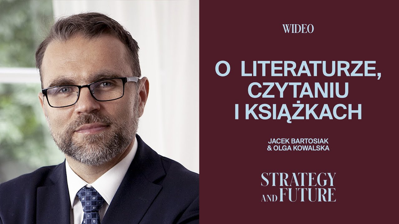 """Jacek Bartosiak rozmawia z Olgą Kowalską (""""Wielki Buk"""") o czytaniu książek i o samych książkach."""