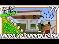 CHICKEN FARM 1.14 TUTORIAL | Automatic Lossless Chicken Cooker [Minecraft Bedrock Edition][MCPE]