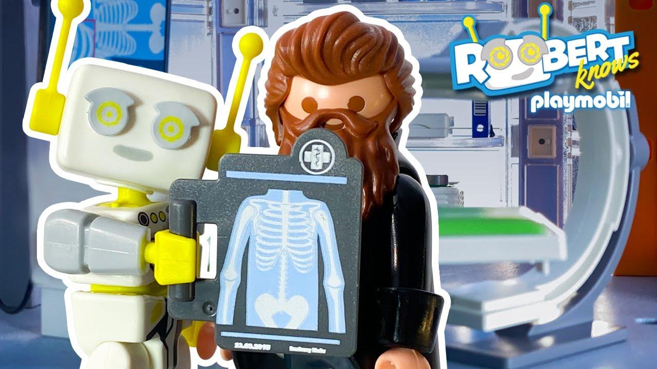 Τί συμβαίνει στο νοσοκομείο; 🩺 Ρωτήστε τον ΡΟΜΠερτ | PLAYMOBIL Ελλάδα