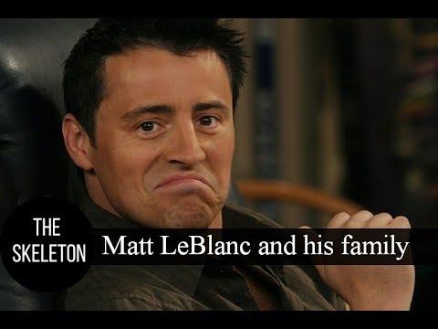 Matt LeBlanc and his family