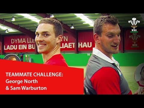 Teammate challenge: George North & Sam Warburton | WRU TV
