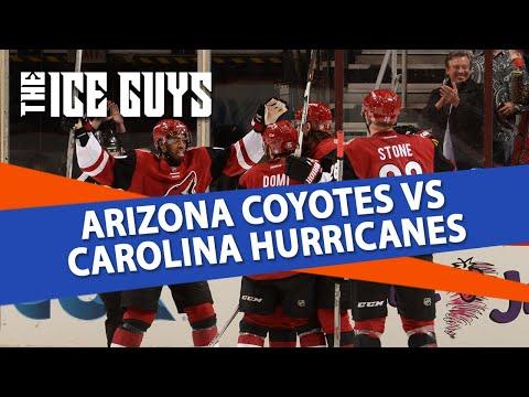 Arizona Coyotes vs Carolina Hurricanes   The Ice Guys   NHL Picks