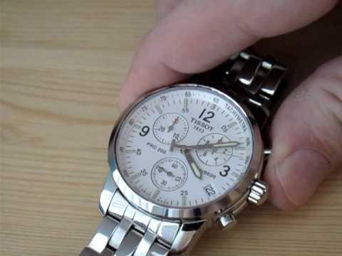 c8961a64081 Tissot PRC200 Watch - Swiss Quartz Chronograph Movement - YouTube
