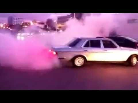 Mercedes w123 280E drift nador