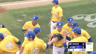Baseball: UCSB vs UCD Highlights (4/20/19)