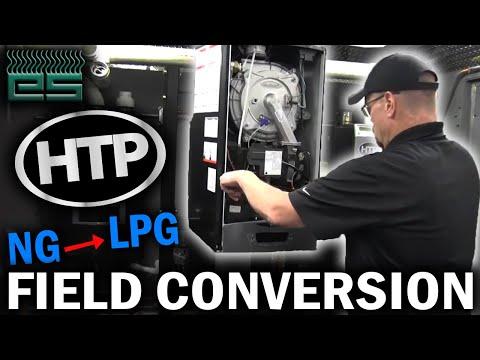 HTP Elite Ultra ELU Boiler Field Conversion | Natural Gas To Propane (LPG)