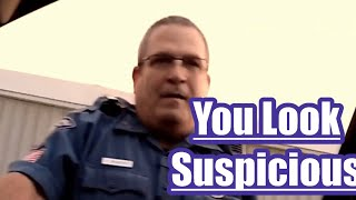 Cop harasses the wrong Guy Gotta see